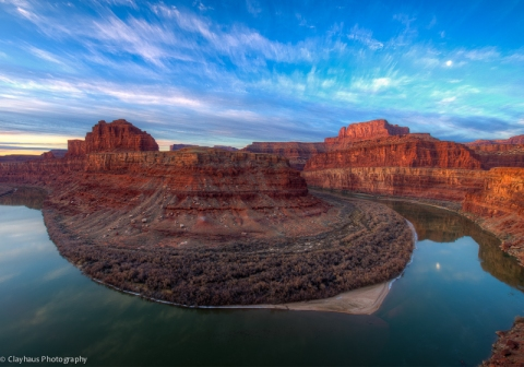 Greater Canyonlands: Sunrise on the Gooseneck of the Colorado River