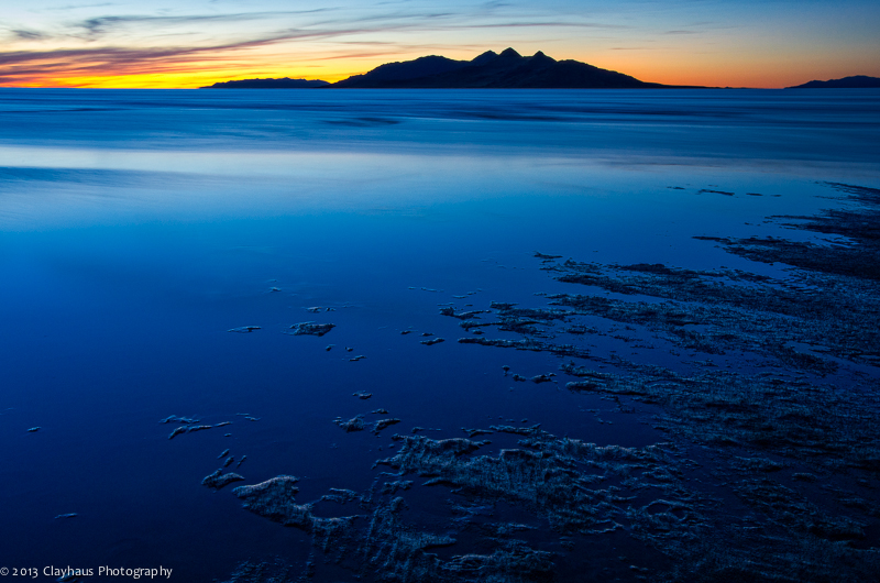 On the Shore of the Great Salt Lake