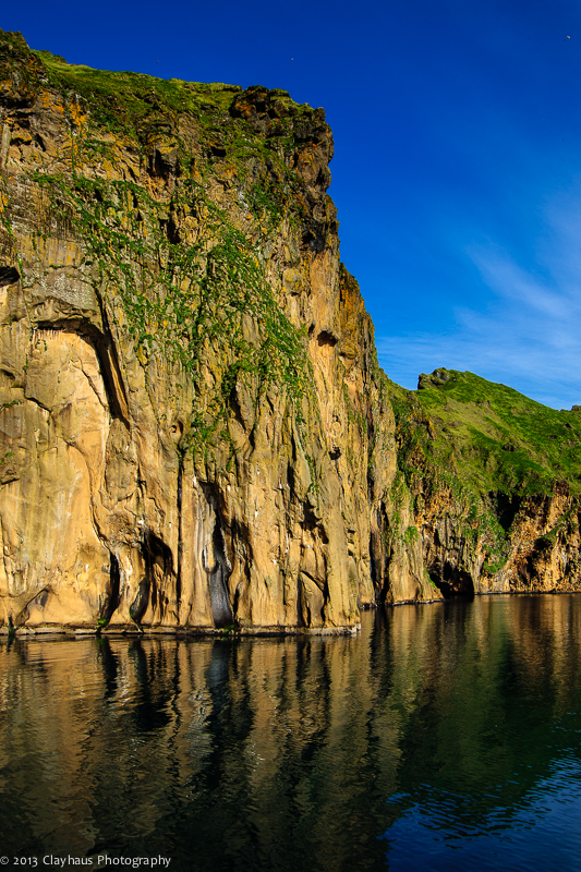 Heimaey: Rock and water