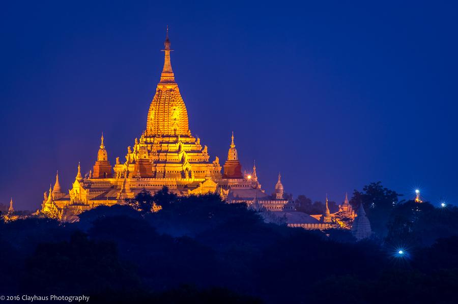 Pre-Dawn Ananda Temple