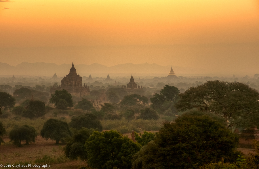 Dawn on Bagan